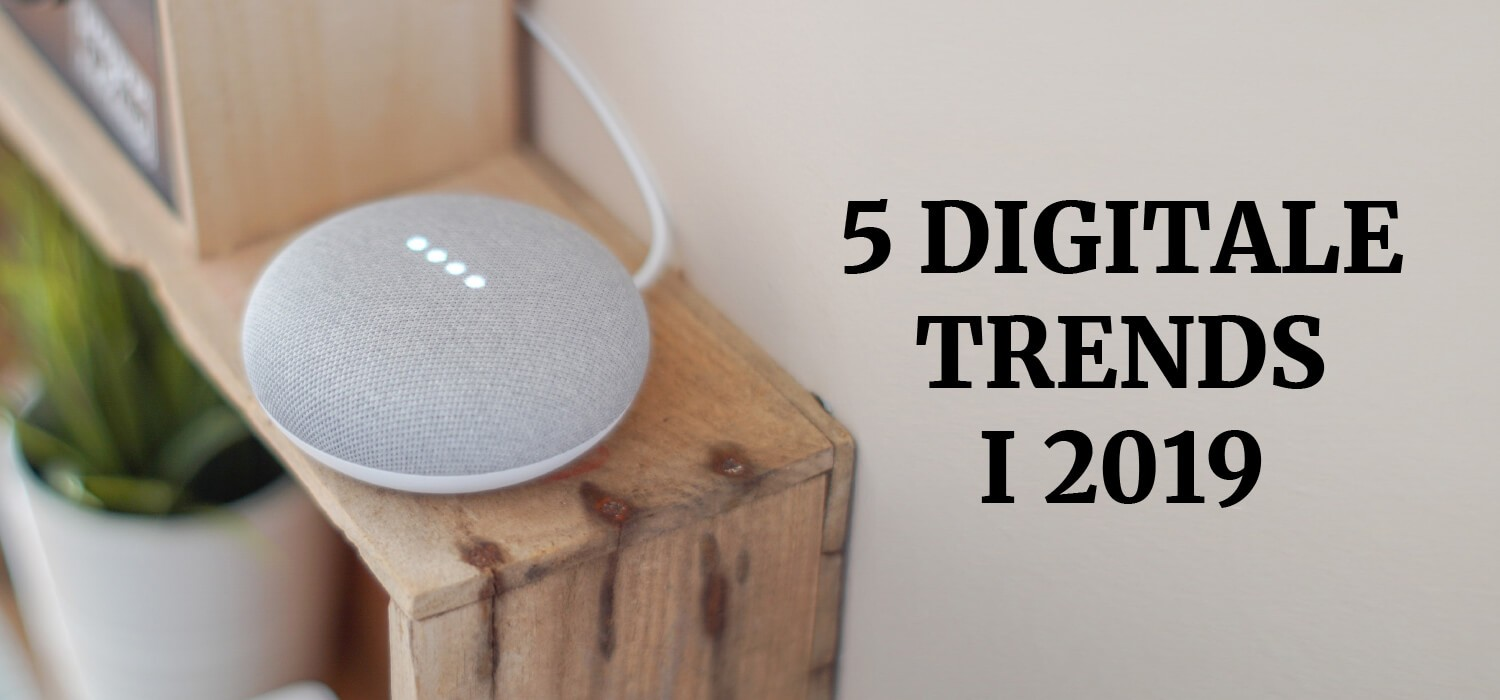 5 Digitale Trends i 2019