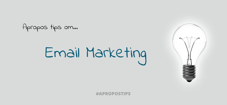 5 tips til email marketing - gå fra spam til guld i indbakken - 5 tips til nyhedsbrev