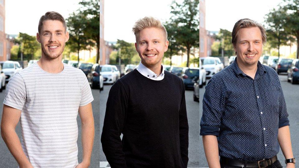 Ekstern Marketingafdeling Apropos Bureau Højre Simon, Stefan og Mads
