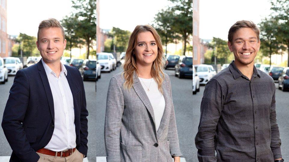Ekstern Marketingafdeling Apropos Bureau Venstre Lars Marco, Stine og Mads