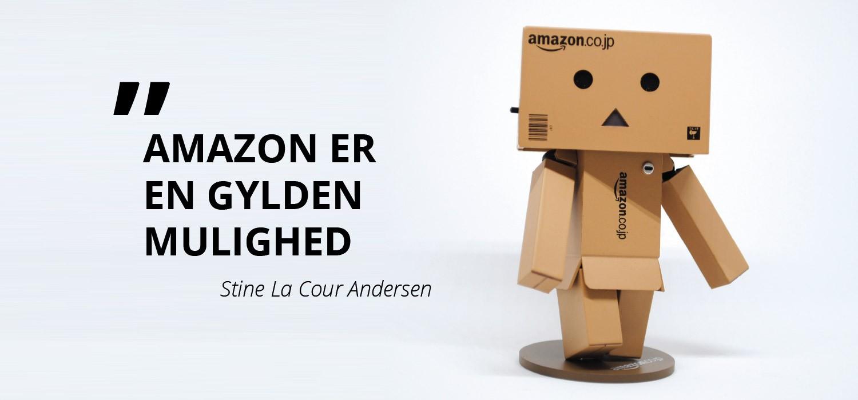 Amazon kommer til Danmark