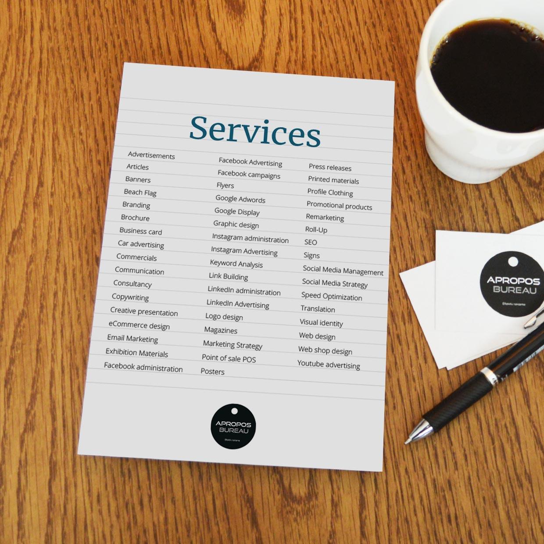 Services Apropos Bureau