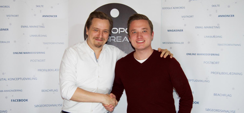 Lars Marco Andersen bliver medejer af Apropos Bureau ApS
