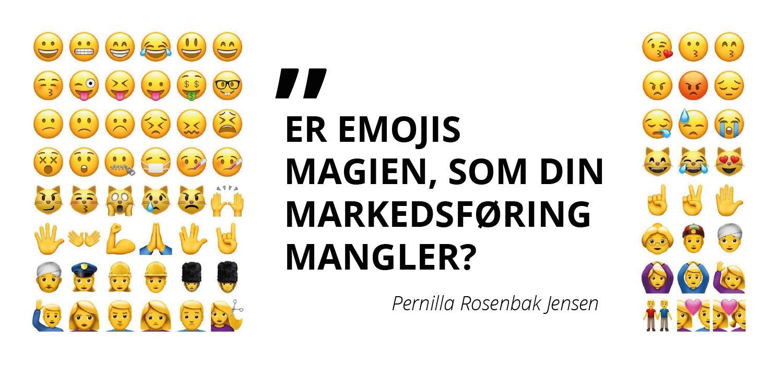 Er emojis magien, som din markedsføring mangler?
