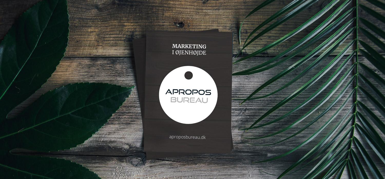 brochure design tryk opsætning