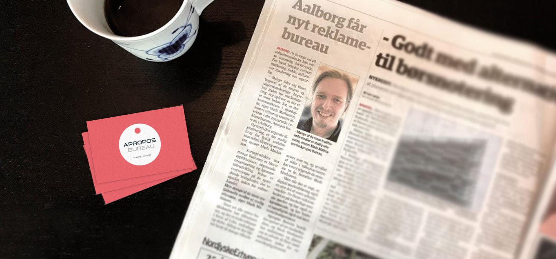Iværksættere tager sagen i egen hånd ved etablering af Apropos Bureau i Aalborg