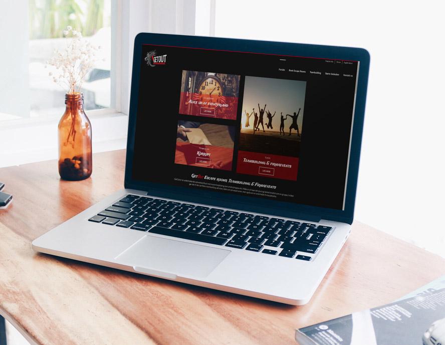Ny hjemmeside og bookingsystem til GetOut Aalborg