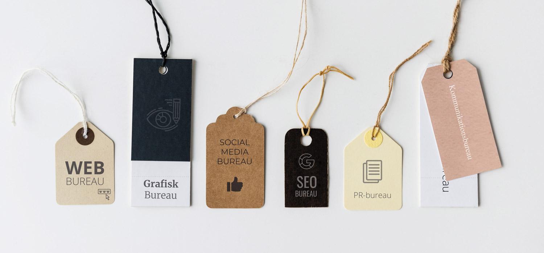 Bureautyper - Webbureau, Reklamebureau, Digitalt bureau, Marketingbureau, Kommunikationsbureau, PR-bureau, SEO-bureau, Mediebureau, Grafisk Bureau, Kreativt Bureau, Social Media-bureau, Search-bureau.