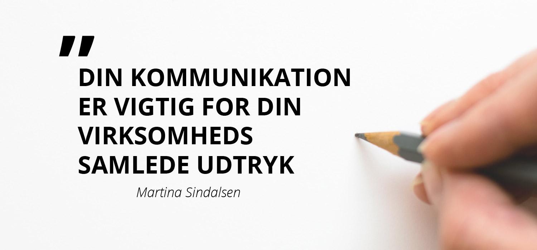 Kommunikation er essentiel for virksomhedens udtryk