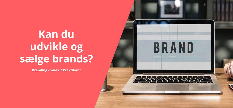 branding og salgs praktikant