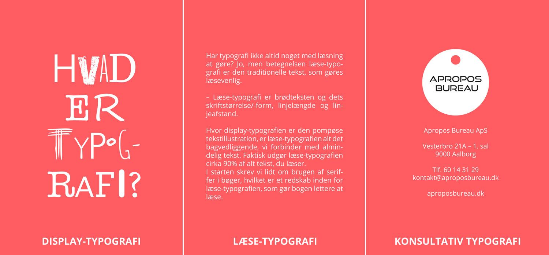 Typografiens 3-deling