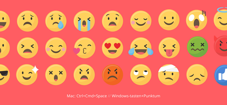 Emoji tastatur genvej